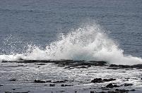 厳松前・津軽海峡色と白波