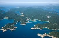 若松郷と若松島(上五島町土井浦周辺)五島列島