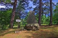 福島県 摺上原古戦場の三忠碑