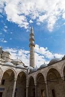 トルコ スレイマニエ・モスク(スレイマン・モスク)のミナレット