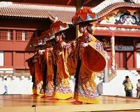 沖縄県 沖縄舞踊「四ツ竹」