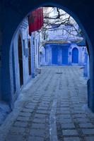 シャウエンの町並 シャウエン モロッコ