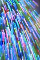 スパークする光のイルミネーション