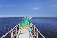 北海道 トドワラの船着き場