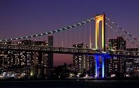 東京都 レインボーブリッジの夜景