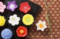 花のキャンドル