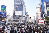東京都 渋谷駅前 スクランブル交差点