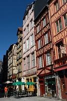 フランス ルーアンの街角