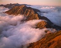 長野県 富山県 白馬岳と後立山連峰