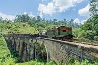 スリランカ エッラ 鉄道
