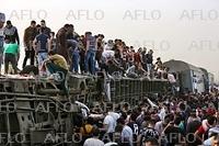 エジプトで列車脱線事故