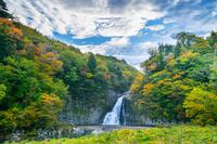 法体の滝 秋田県由利本荘市 滝百選