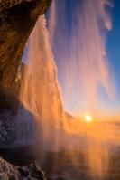 アイスランド セリャランスフォス滝
