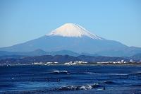 神奈川県 湘南 鵠沼 富士山