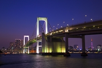 東京都 お台場 夜景