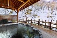 岩手県 瀬美温泉の露天風呂