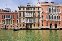 イタリア ヴェネチア ドルソドゥーロ地区&大運河 大運河 モ...