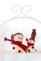 雪だるまの人形