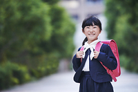 日本人女の子のポートレート