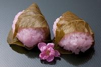 桃の花と道明寺