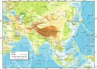 アジア 自然図