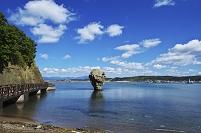 北海道 かもめ島と瓶子岩