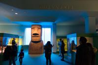 アメリカ アメリカ自然史博物館 モアイ像