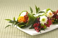 新春の祝い花