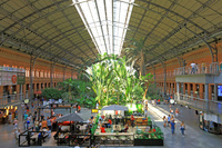 スペイン マドリッド アトーチャ駅