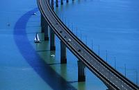 フランス フランス本土とレ島を繋ぐ橋