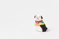 小幡土人形座り犬