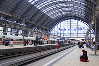 ドイツ フランクフルト フランクフルト中央駅