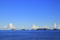 東京都 小笠原諸島 母島 鮫が崎展望台から望む平島と姉島