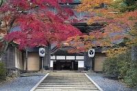 和歌山 秋の高野山 正門