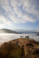 雲上の竹田城