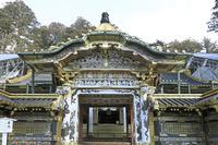 栃木県 日光東照宮の唐門