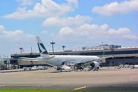 成田空港 T2 キャセイパシフィック  B777-300