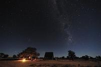 砂漠の星空 ボツワナ