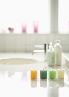 洗面台のキャンドル