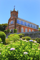 長崎県 黒島の集落 黒島天主堂