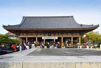 大阪府 大阪市 四天王寺 初詣の風景