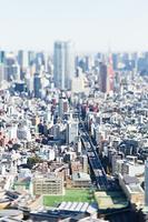 ミニチュア風渋谷区