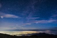 長野県 美ヶ原高原の星空
