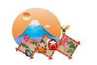 達磨と富士山