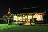 京都府 壬生寺 盂蘭盆万灯供養会