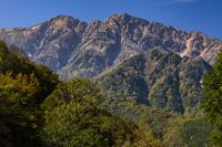 長野県 黒沢高原から爺ヶ岳