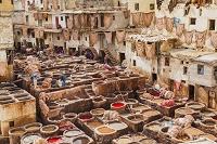 モロッコ フェズ フェズ・エル・バリ タンネリ