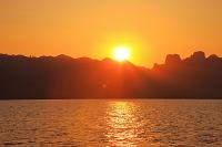 インドネシア 夕焼け