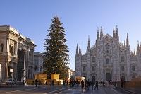 イタリア ミラノ ドゥオモのクリスマス