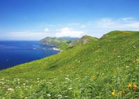 北海道 ゴロタ岬よりスコトン岬を望む